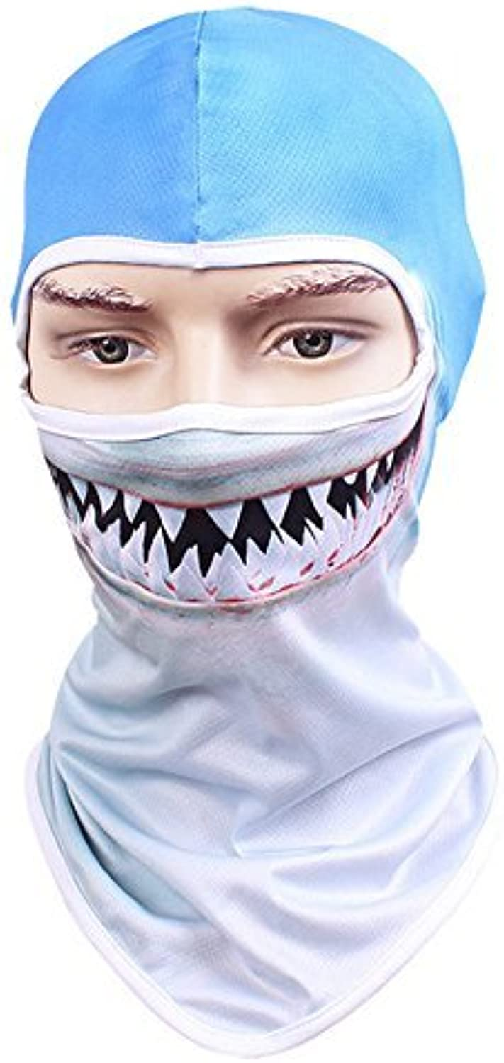 TClian Fishing Sun Mask UV Predection for Men & Women Multipurpose Face Wind Sun Predection Quick Dry Headwear Breathable Summer Outdoor Balaclava Ninja Hood for Fishing, Hiking, Boating & Outdoor