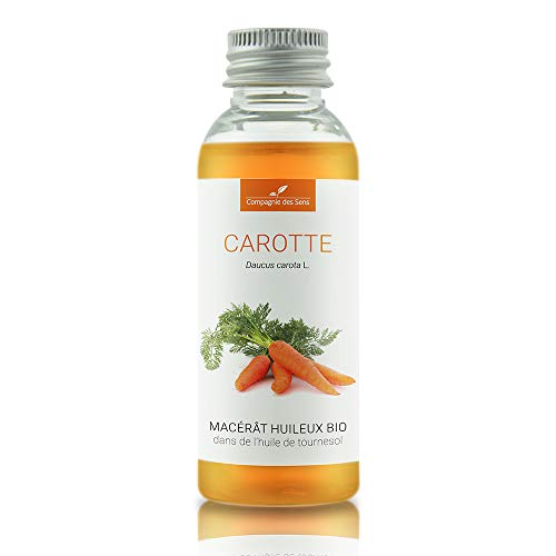 CAROTTE - 50mL - Macérât huileux Certifié BIO, 100% Pur, intégral et naturel - Aromathérapie - La Compagnie des Sens