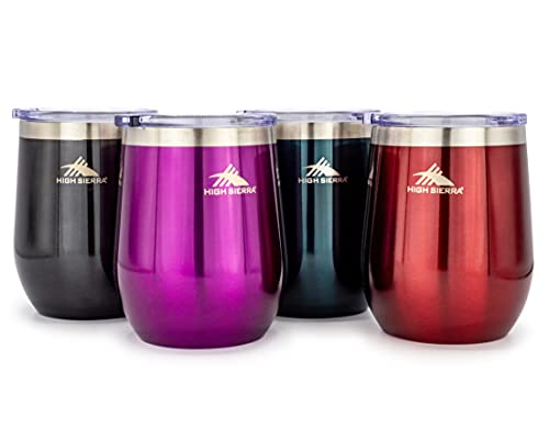 High Sierra HS1574 Wine Tumbler, 12 oz, Assorted Colors