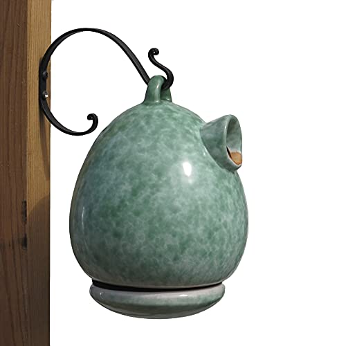 BYER OF MAINE Alcyon Egg/Bottle Bird Home