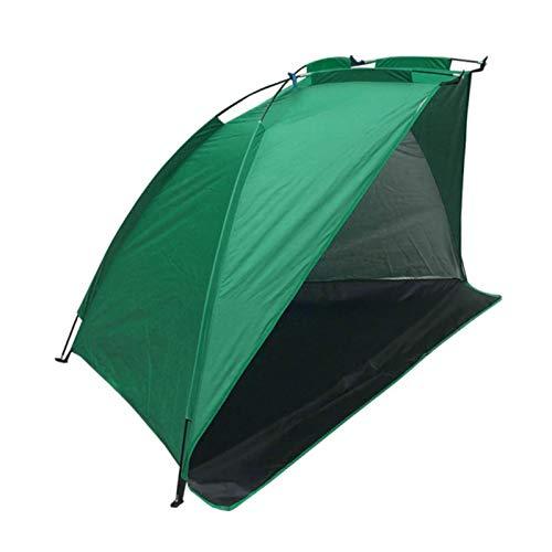 Seasaleshop Tipi Zelt Outdoor,Wasserdichtes Angelzelt mit Reißverschlusstür strandzelt uv Schutz,Outdoor leichtes Wurfzelt 3 Personen Zelt