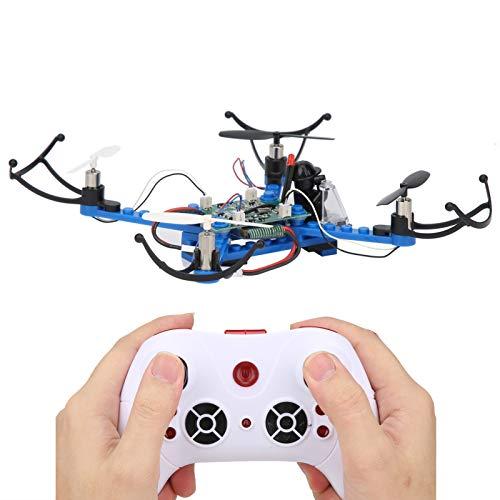 Zumbido, Mini Drones para Adultos, Aviones de Montaje de Bloque de Bricolaje SíGueme El Edificio Quadcopter Juguetes ElectróNicos para Adultos y NiñOs Interruptor de RotacióN y Velocidad