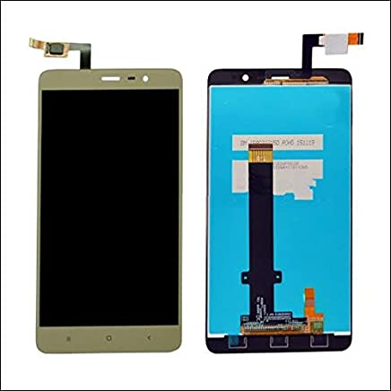 Generic Xiaomi Redmi Note 3 LCD Display with Touch Screen Digitalizer Glass Combo(Gold)