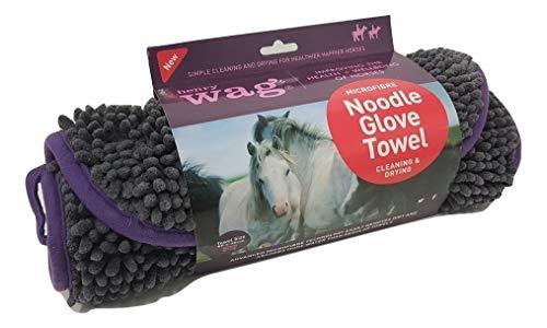 Handtekening Unisex's HWG0160 Noodle Handschoen voor paarden, 1 maat.