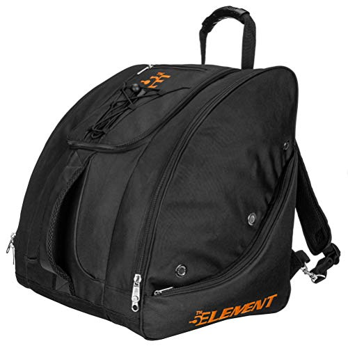 5th Element Bomber Boot Bag - Black-Orange
