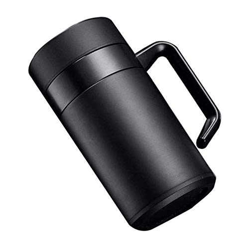 Portable Coffee Travel Mug High-grade Water Cup With Handle Cup Portable Stainless Steel Cup Business Office Tea Cup Tea Set Portable Leisure Kettle the Best Gift for Winter