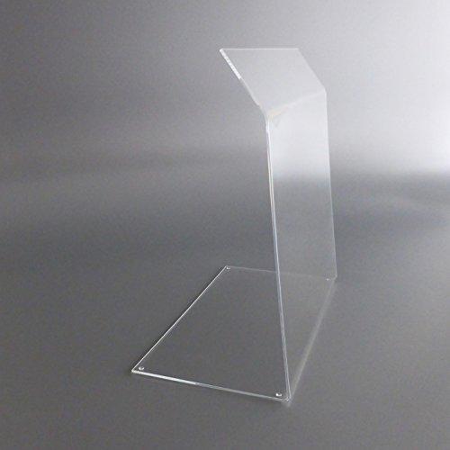 lobotec-acryl Spuckschutz Theken-Aufsatz aus Plexiglas. Hoher Hustenschutz für Tresen und Gastronomie. Protector3 (50 x 45 cm BxH)