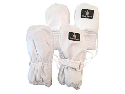 Moufles enfant - White Edition. 6- 12 mois