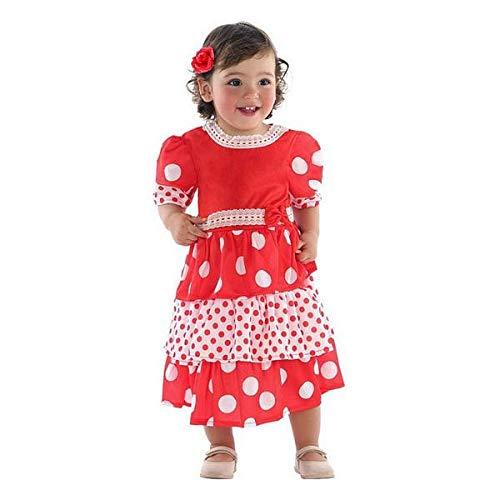 ATOSA disfraz flamenca niña bebé 24 meses