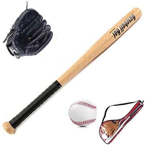 24 Heavy Duty Wooden Baseball Rounders Bat