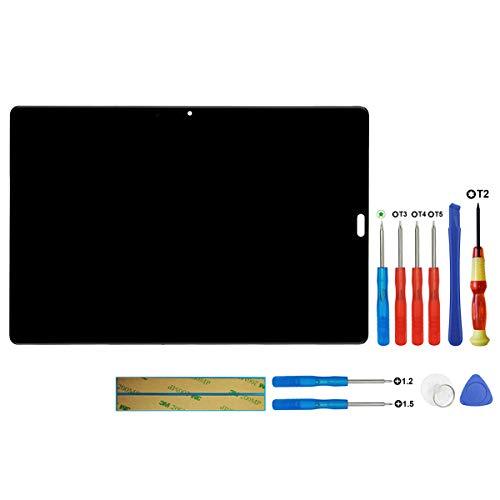 swark LCD Bildschirm Compatible with Huawei MediaPad M5 10,8 Zoll/CMR-AL19 / CMR-W19 Schwarz Touchscreen + Tools