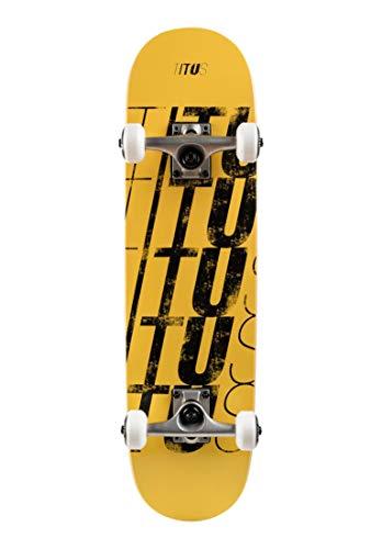 TITUS Skateboards-Complete Fivefold-Mini, 7.5, Komplett Board, 7 Schichten Ahornholz mit 90A Rollen, ABEC 7 Kugellager, bereits fertig montiert, für Anfänger und Kinder, Mädchen und Junge