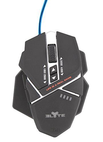 T'nB MGAME2 Gaming Maus schwarz/blau