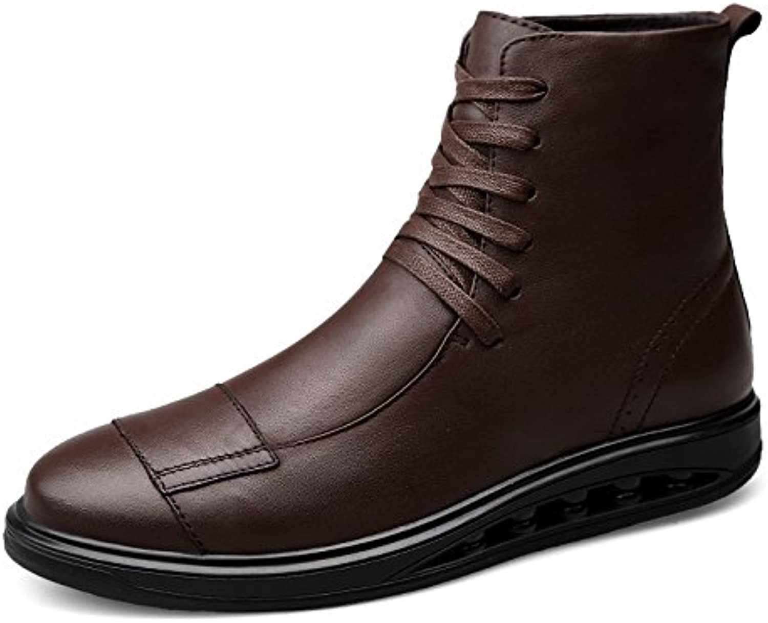 LOVDRAM Boots Men's Luxury Men'S shoes Autumn And Winter Military Boots Thick Leather Casual Martin Boots 3846