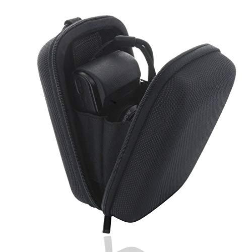 Smart-Planet® Kameratasche Hardcase - Kamera Tasche für z.B. Canon PowerShot G7 / G9 X - Sony DSC HX90 RX100 I II III IV V - schwarz - extra stabil