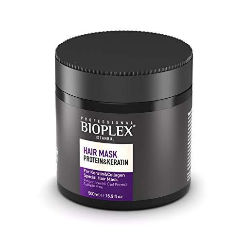 Hair Mask For Damaged Hair Bioplex Protein keratin Hair Repair Treatment Mask