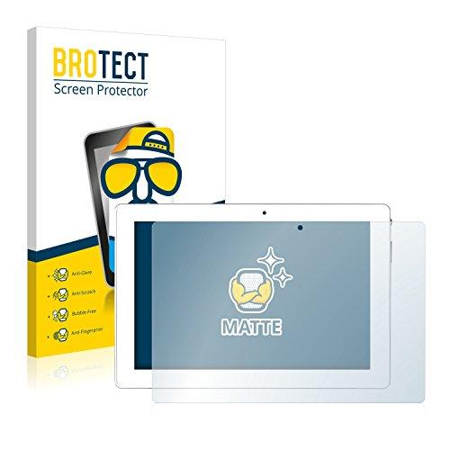 BROTECT 2X Entspiegelungs-Schutzfolie kompatibel mit Medion Lifetab P10356 (MD 99632) Bildschirmschutz-Folie Matt, Anti-Reflex, Anti-Fingerprint