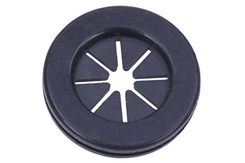 Phobya Kabel Gummidurchführung rund - schwarz Gehäuse & Hardware Gehäusezubehör