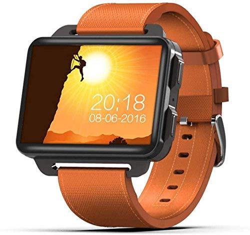 ZHENAO Smart Watch, Pantalla Grande de Alta Definición de Ips de 2.2 Pulgadas, Inforión Push Bluetooth Connection Connection Videollamada Inteligente Pulsera Soporte Sim Tarjeta-Ora
