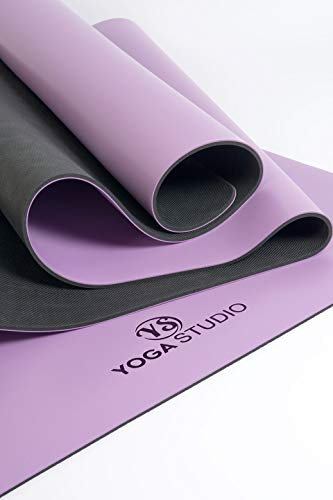 Yoga Studio YS/Grip/Mat Unisex / 4 mm/Purp Grip Morado, 68 c