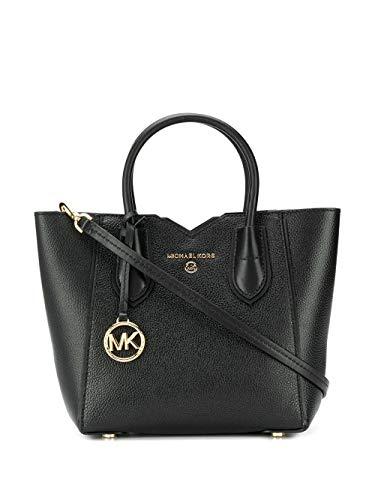 Luxury Fashion | Michael Kors Dames 30H9GM5M1L001 Zwart Leer Handtassen | Lente-zomer 20