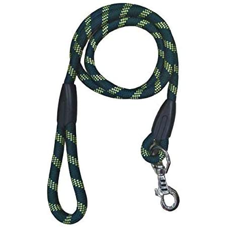 The Pets Company Dog Rope Leash Green, Suitable for Large and Giant Dogs, Green