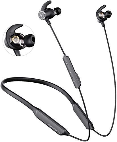 SoundPEATS Auricolari Bluetooth 5.0 Force Pro, cuffie antimagnetica wireless, IPX5 impermeabile resistente al sudore, cuffie sportivo stereo autonome APTX-HD riduzione del rumore CVC