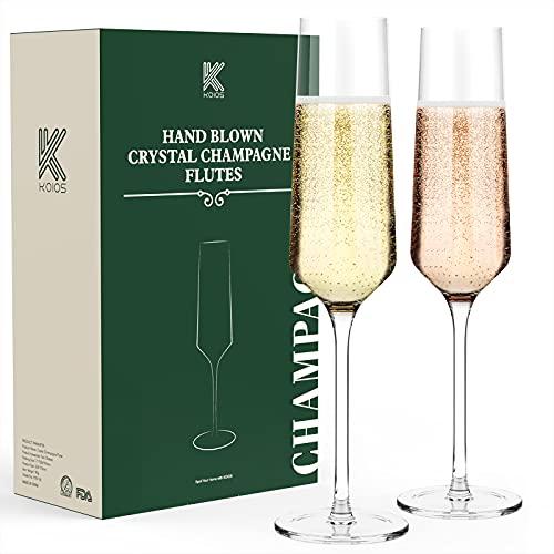 (45% OFF) Champagne Flutes Set of 2  $13.74 Deal