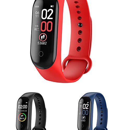 LTDD Heart Rate and Blood Pressure Smart Bracelet, Fitness Activity Monitor, Calorie Counter, Waterproof USB Charging, It is A Gift for The Elderly, Adults, and Children