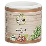 myfruits® Bio Guarana Pulver - ohne Zusätze, zu 100% aus Guarana-Samen - natürliche Kaffeealternative. Das Superfood aus dem Amazonas (100g)