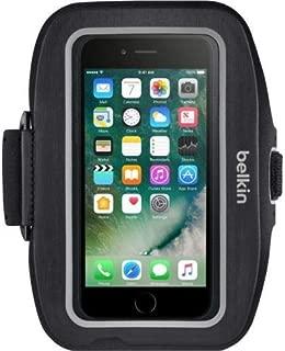 Belkin Sport-Fit Carrying Case (Armband) iPhone 7 - Blacktop - Neoprene - Armband