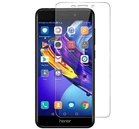 REY 3X Protector de Pantalla para Huawei Honor V9 Play/Honor 6C Pro, Cristal Vidrio Templado Premium