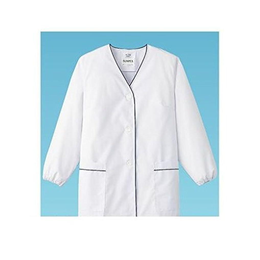故障麺残酷なGN13662 白衣?長袖 FA-380 (ホワイト) M