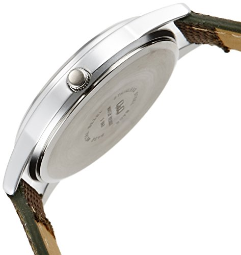 『[シチズン キューアンドキュー]CITIZEN Q&Q 腕時計 ウォッチ ミリタリー 5気圧防水 キャンバスベルト カーキ メンズ レディース キッズ』の2枚目の画像