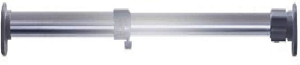 LF-YGJ Varilla telescópica para rieles de Ropa, Varilla de barandilla para guardarropas sin Perforaciones, Percha para bal...