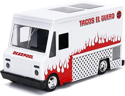 Jada JA99800 1:32 Deadpool Taco Truck, Multi