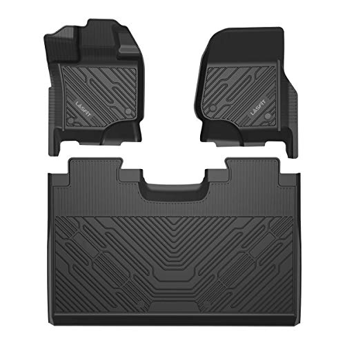 LASFIT Floor Mats Fit for Ford F-150 2015-2021...