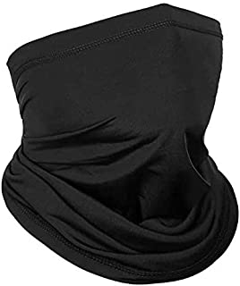 Outdoor Ice Silk Breathable Face Cover Neck Gaiter, Idea for Riding Fishing Ski Snowboard Running Climbing Motorcycle with...