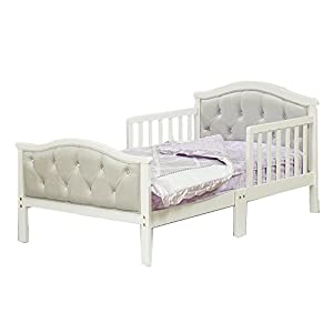Orbelle Trading The Orbelle Gray Padded Toddler Bed