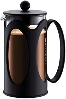 BODUM KENYA Coffee Maker, Black, 1.0 L