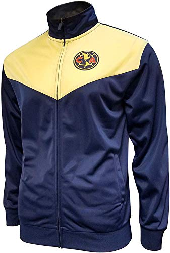 Icon Sports Men Club America Official Licensed Zipper Soccer Jacket Large 031