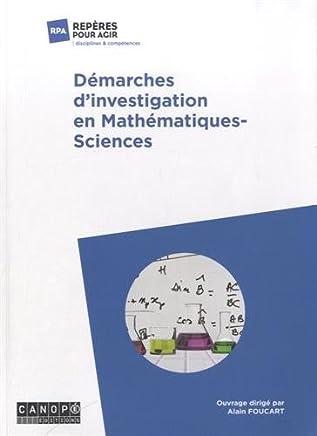 Démarches dinvestigation en mathématiques-sciences