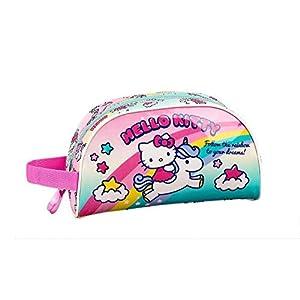 41rO9Zl 2vL. SS300  - Hello Kitty Candy Unicorns Neceser, Bolsa de Aseo Adaptable a Carro