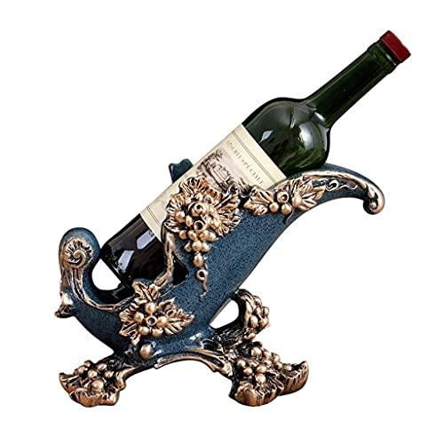 ZJZ Estante para vinos, Material para Botellas, Mesa de exhibición, Manualidades, portabotellas, portavasos, Estante para vinos, Estante para vinos