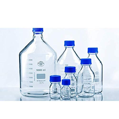 Simax 2070/100 Reagent Glass Bottle, 100 mL (Pack of 10)