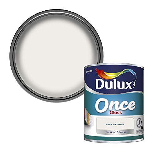 Dulux Once Gloss Paint For Wood And Metal - Pure...