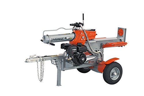 New YARDMAX YS2865 28 Ton Half Beam Gas Log Splitter, 4-Way Wedge, Briggs & Stratton, CR950, 6.5HP, ...