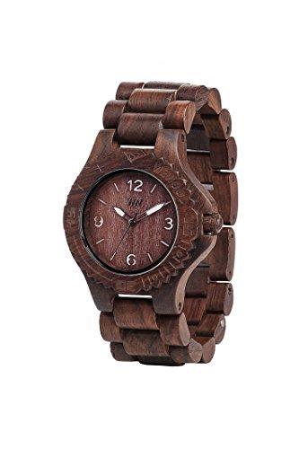 Reloj de pulsera para mujer - We Wood DATE_CHOCOLATE
