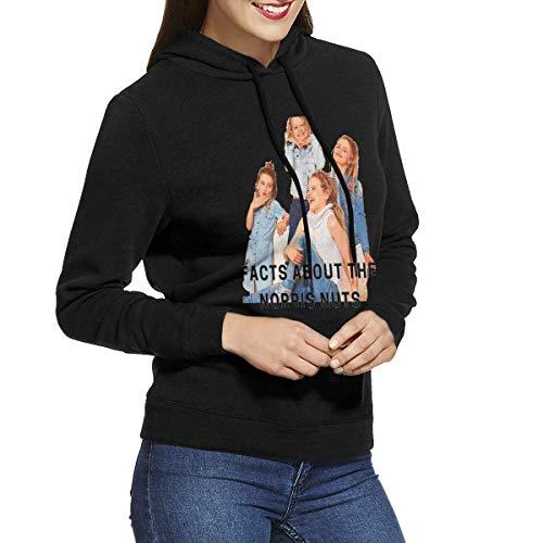 maichengxuan Norris Nuts - Sudadera con capucha de manga larga para mujer