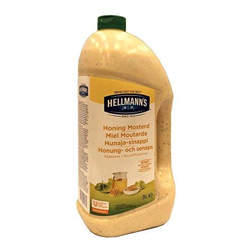 Hellmann's Honing Mosterd Dressing 3000ml Flasche (Honig-Senf-Dressing)